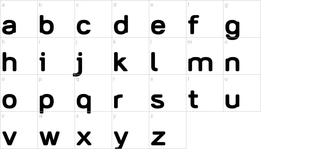 AliciOne lowercase