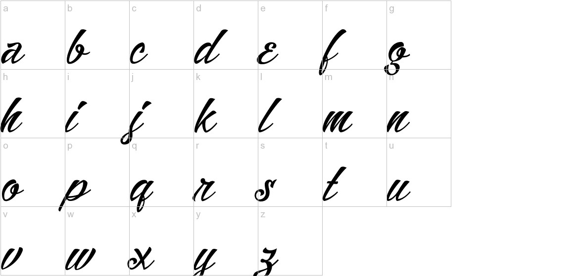 Alisandra lowercase