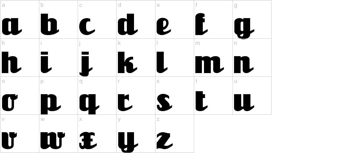 Unicorn lowercase