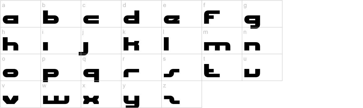 uni-sol lowercase