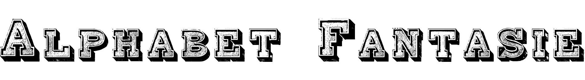 Alphabet Fantasie