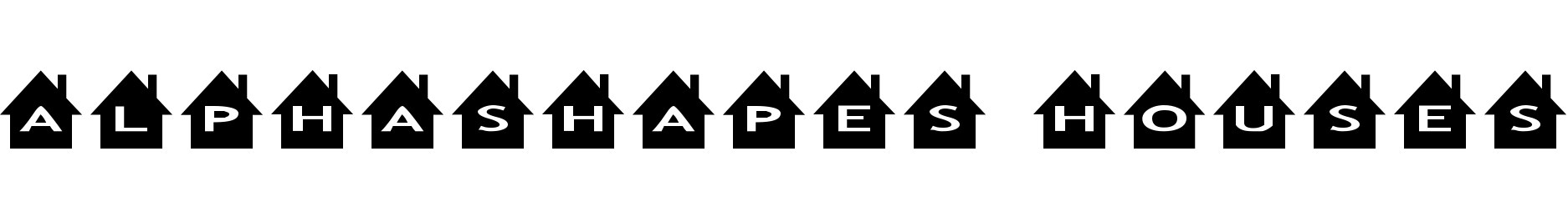AlphaShapes houses