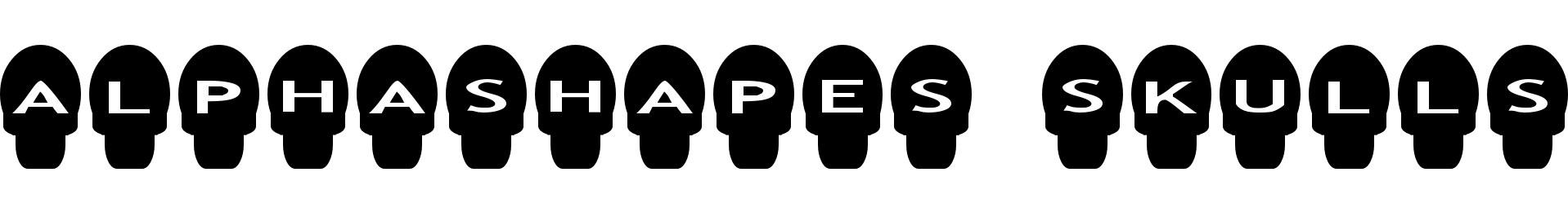 AlphaShapes skulls