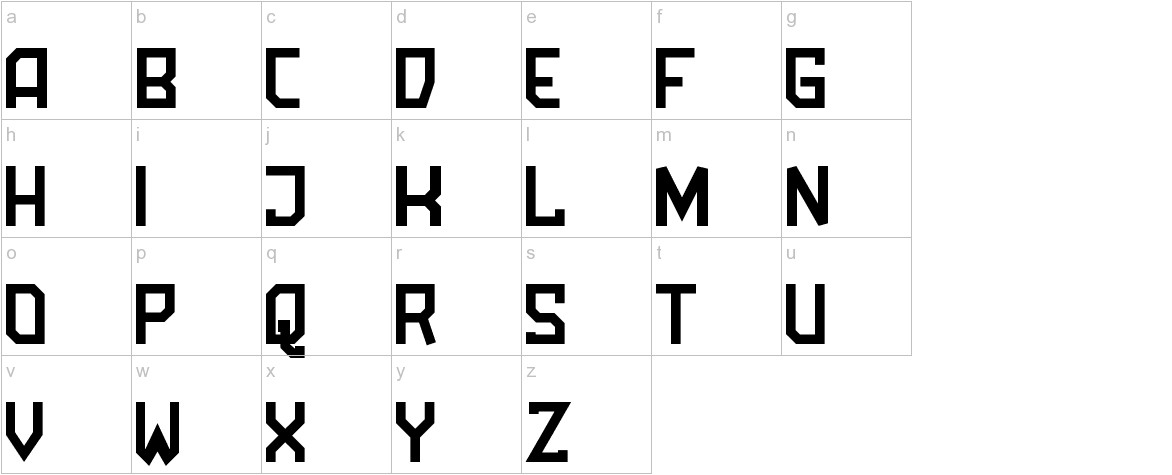 Amboss Display Condensed lowercase