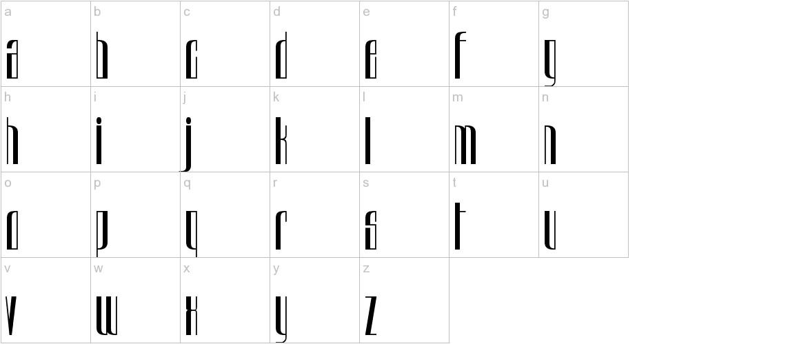 Urkelian Television Dynasty lowercase