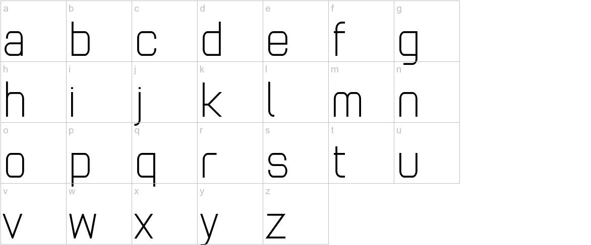 Andersans lowercase
