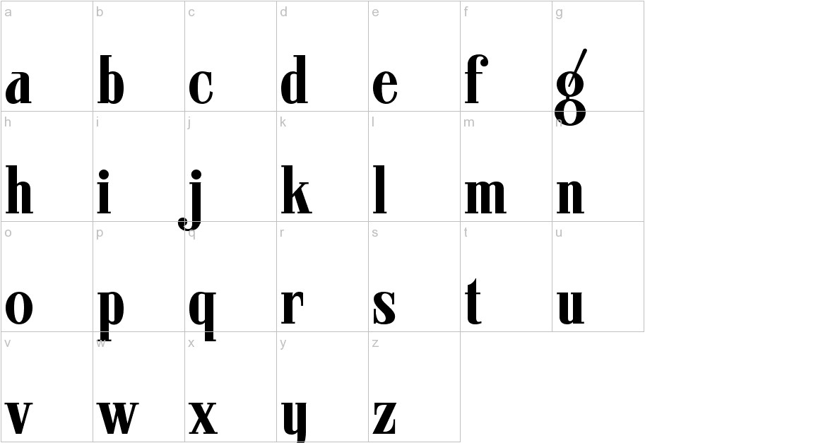 ARB 08 Extreme Roman AUG-32 CAS Normal lowercase