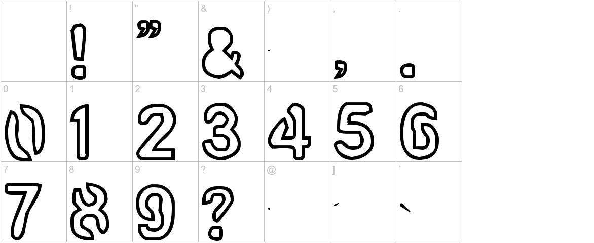 artline2 characters