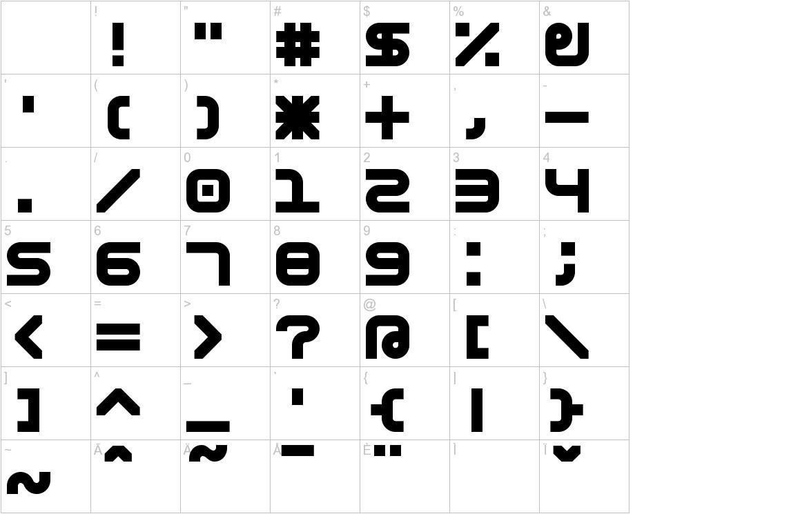 Astronomic Mono characters