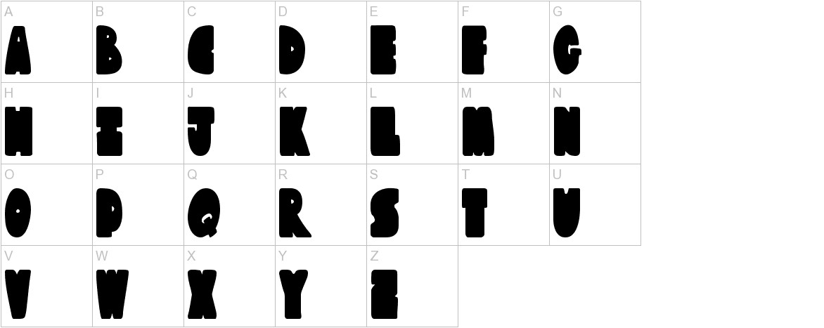 Austie Bost Chunkilicious uppercase