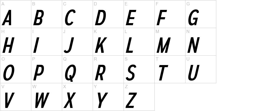 AutoradiographicRg-Italic uppercase