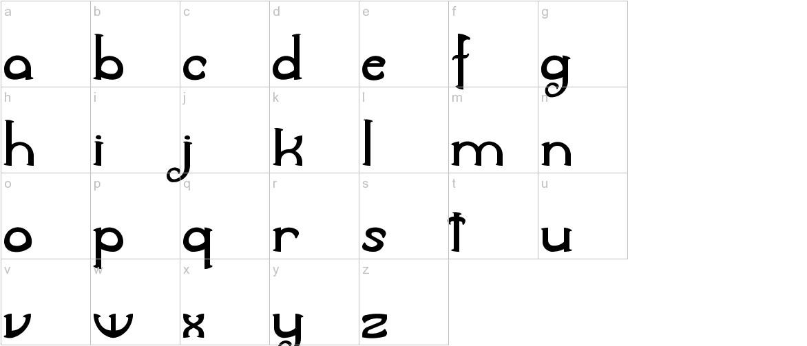 Awelita lowercase