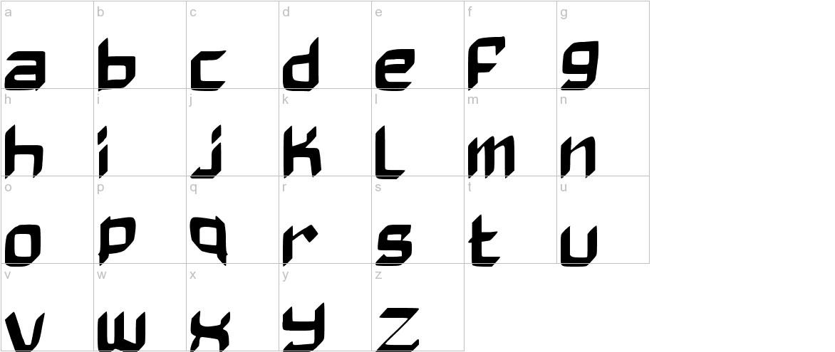BadAxe lowercase