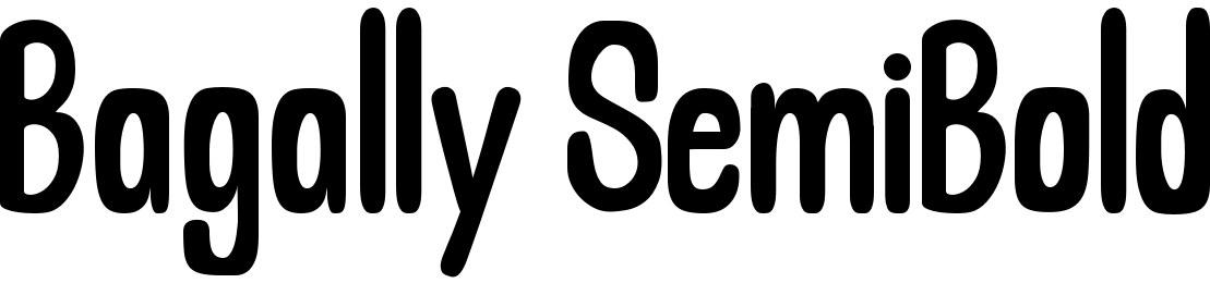 Bagally SemiBold