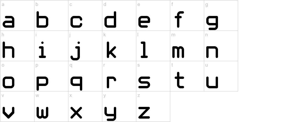whiterabbit lowercase