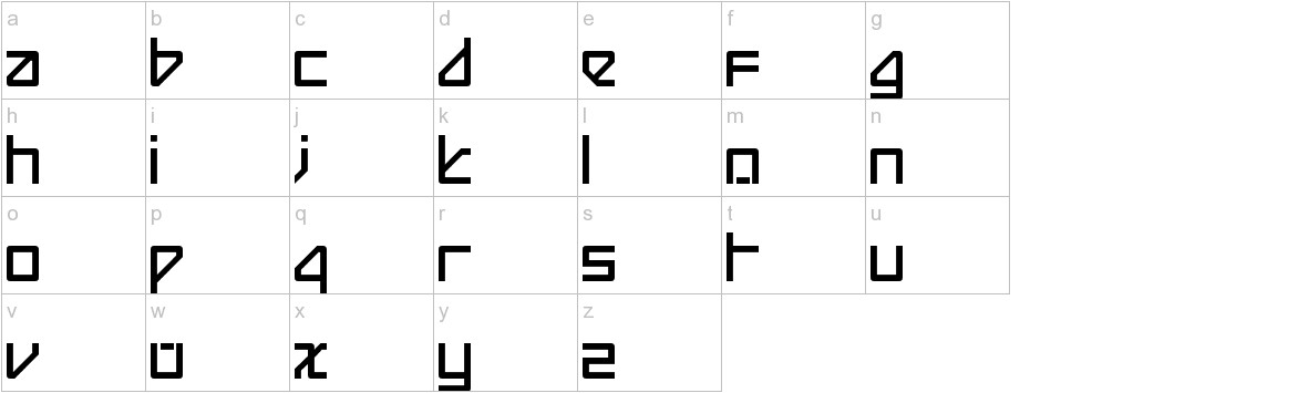 Beijing Redux Thick lowercase