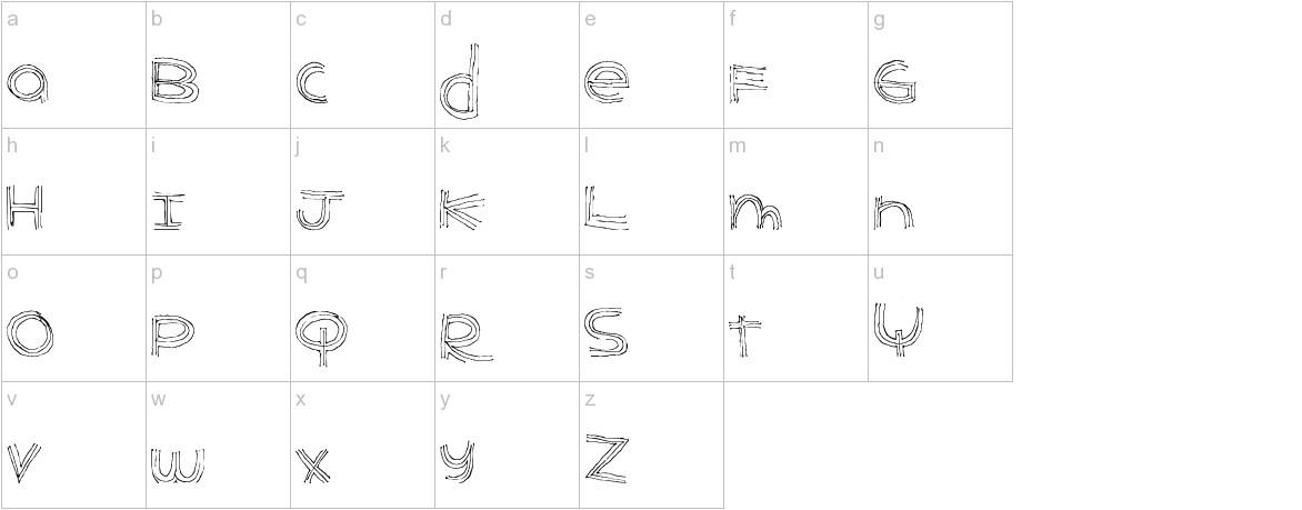 BenderLines lowercase