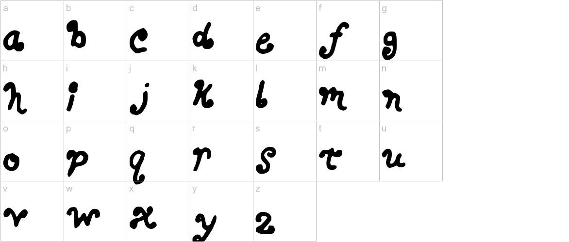 BERKY lowercase