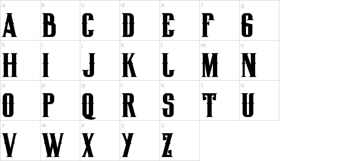 BigLodgeTypeFree lowercase