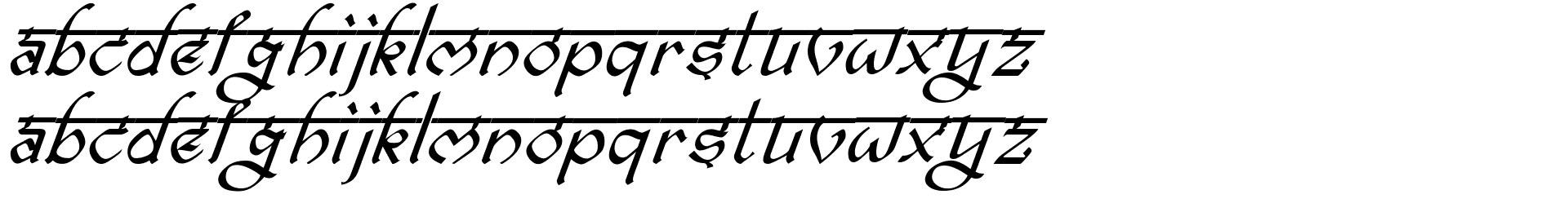 bitling ravish Italic