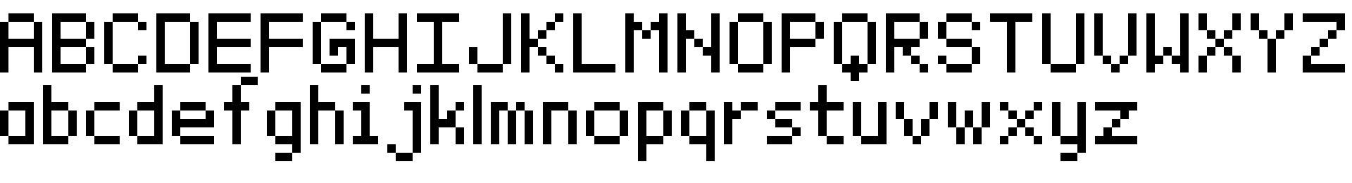 BitxMap Font tfb