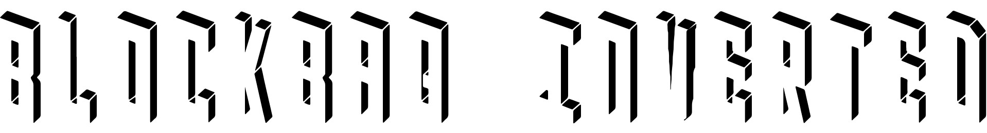 Blockbaq Inverted