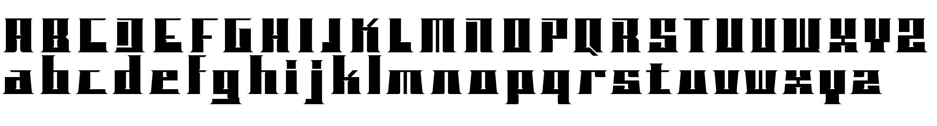 BLOCKO typeface