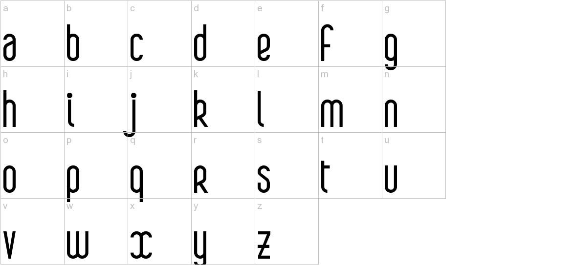 Boa lowercase