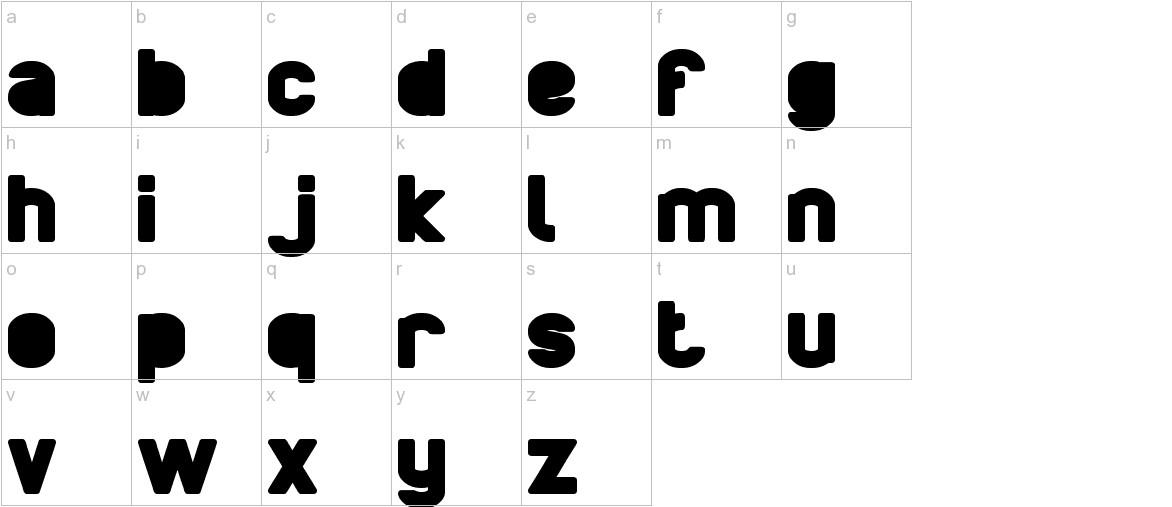 BOARDER lowercase