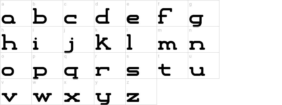Xipital -BRK- lowercase