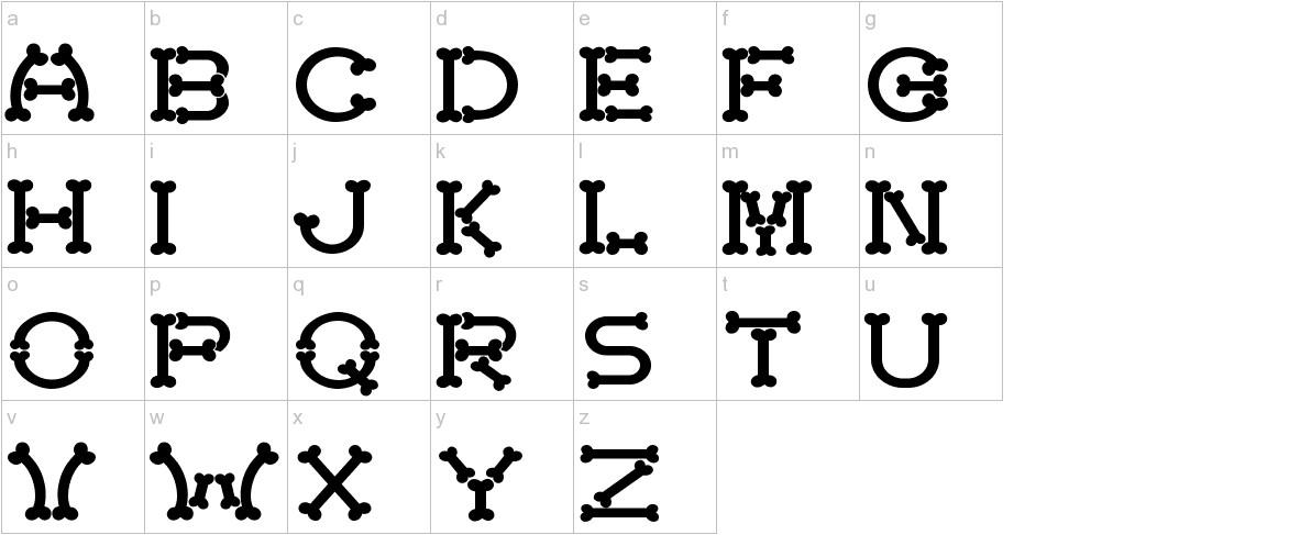 Bonecracker lowercase
