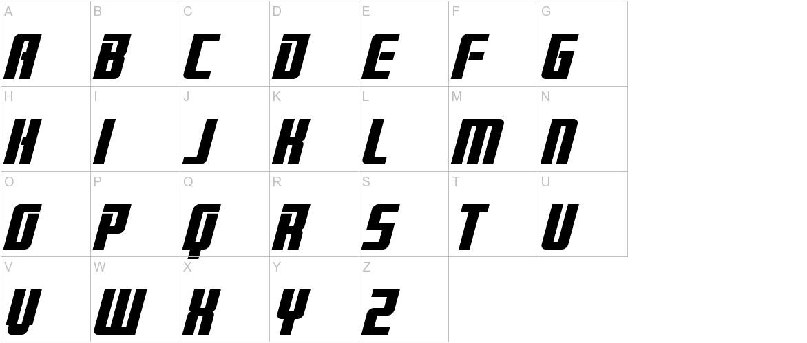 Brainstorm Bold Italic uppercase