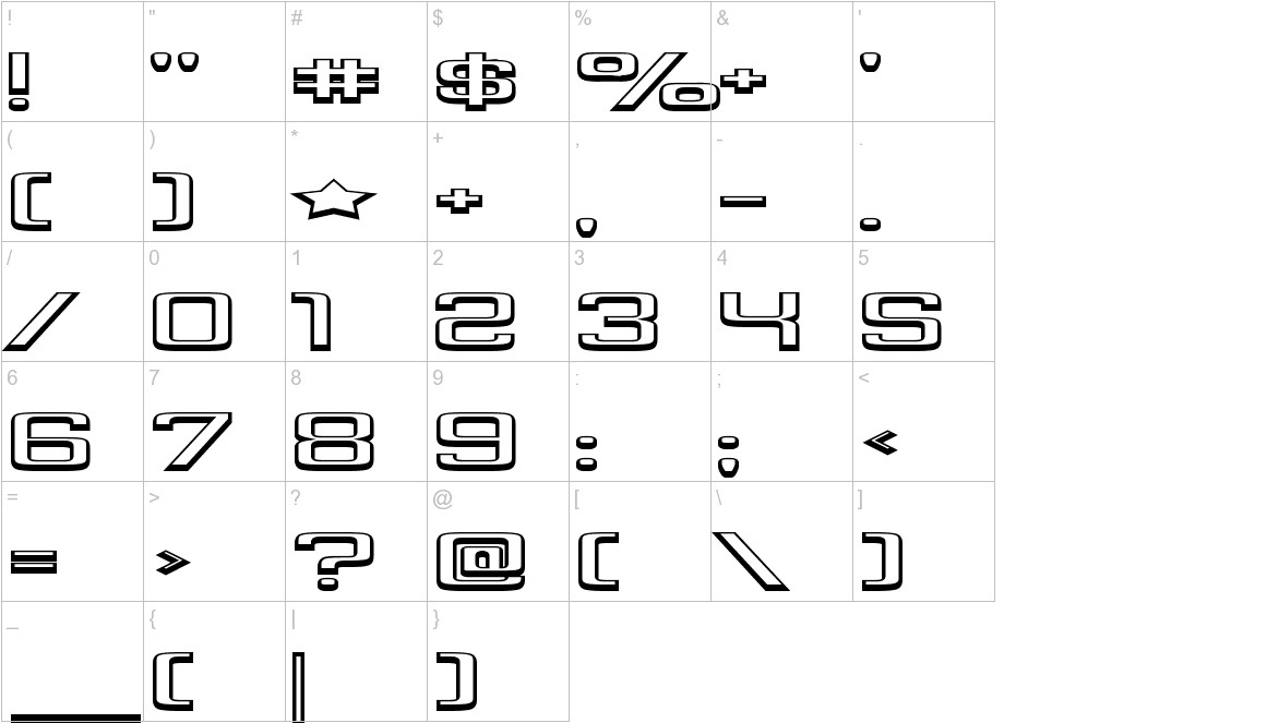 Yadou characters