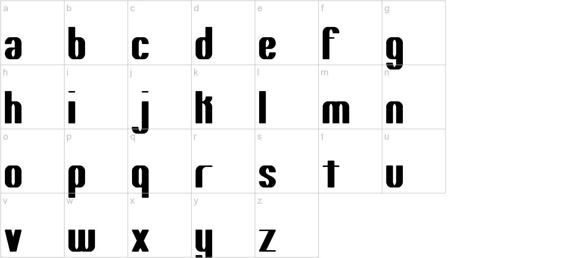 Yielding -BRK- lowercase