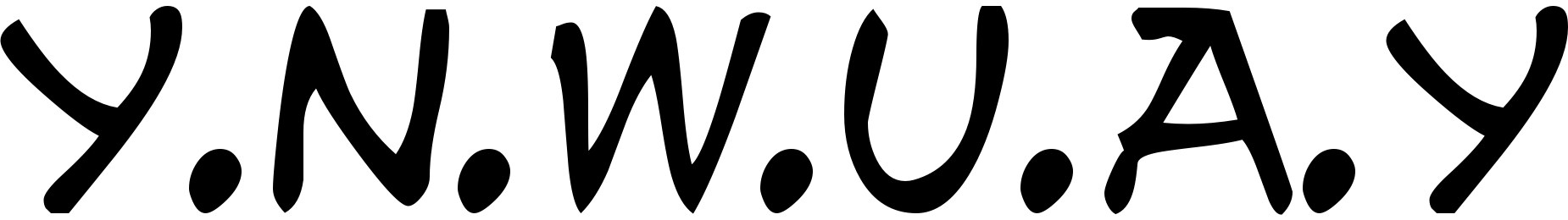 y.n.w.u.a.y