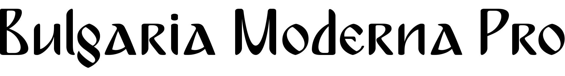 Bulgaria Moderna Pro