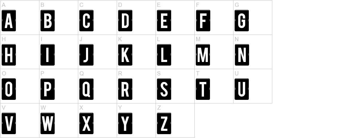 calendar note tfb uppercase