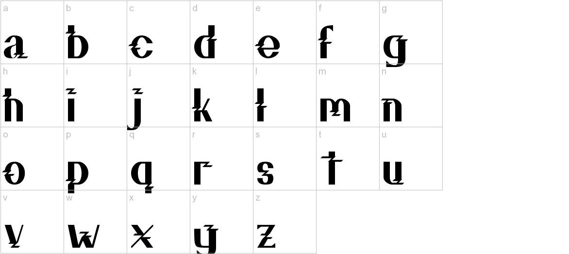 ZZZ Top lowercase
