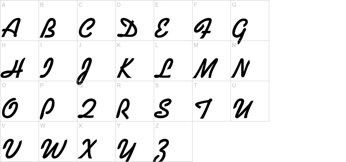 Alako-Bold uppercase