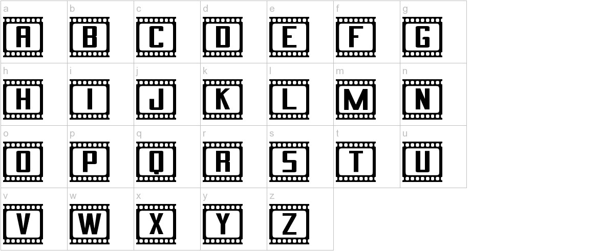 Cinema St lowercase