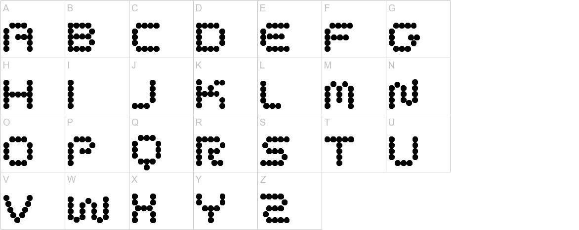 CirclePixels uppercase