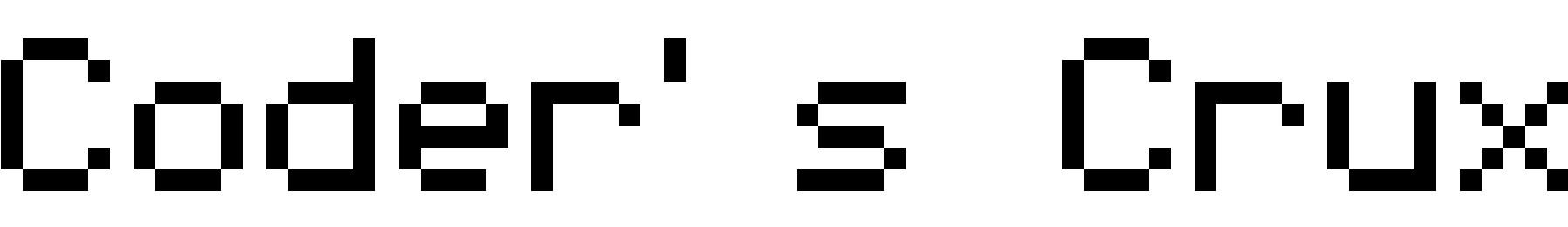 Coder's Crux