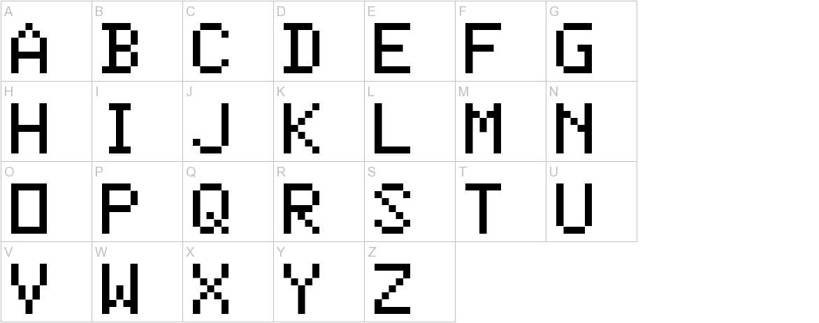 ColorBasic-Regular uppercase