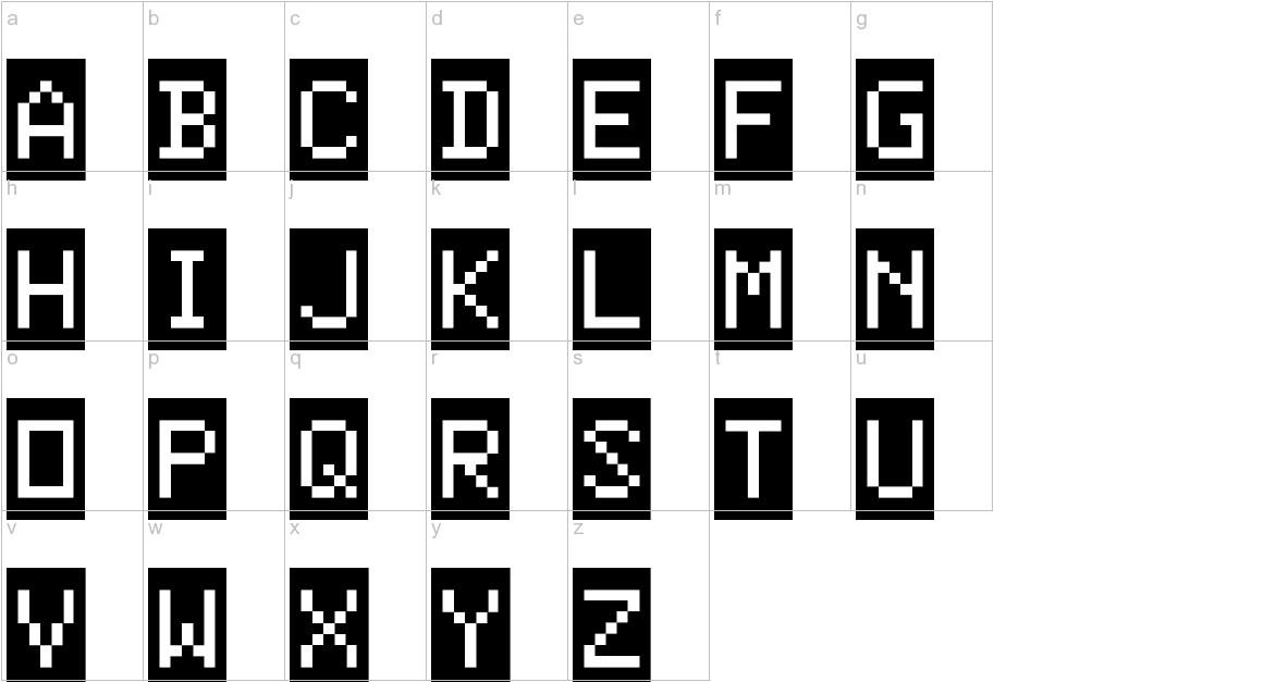 ColorBasic-Regular lowercase