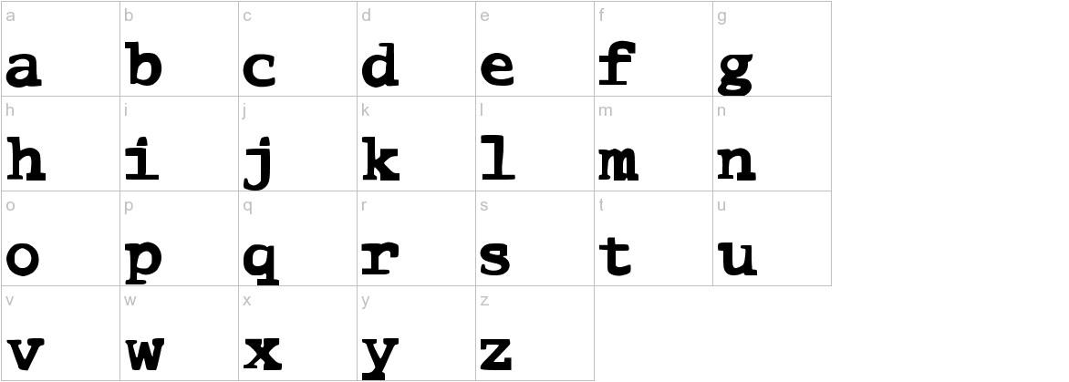 ComicType lowercase