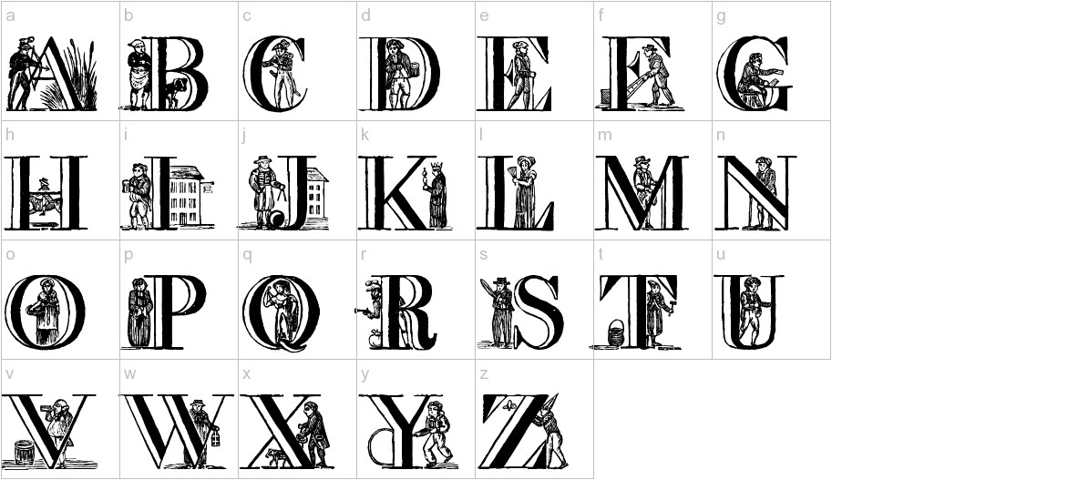 a picture alphabet lowercase