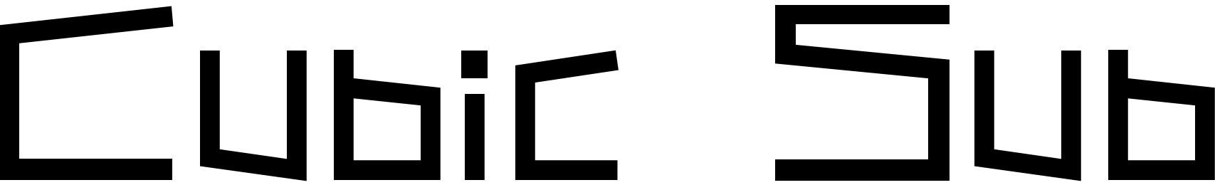 Cubic Sub