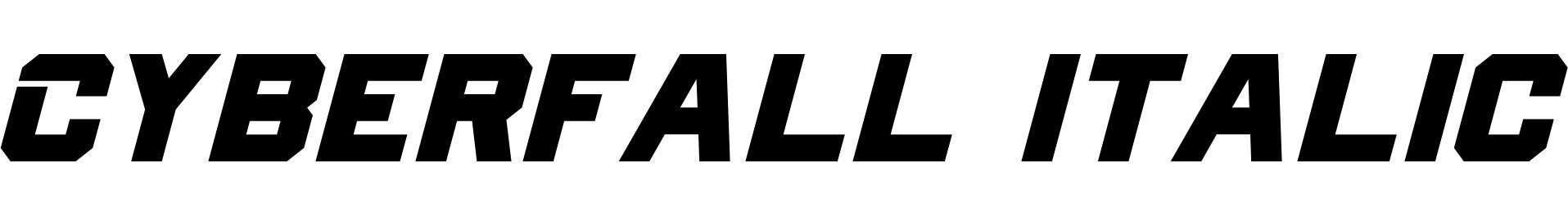 Cyberfall Italic