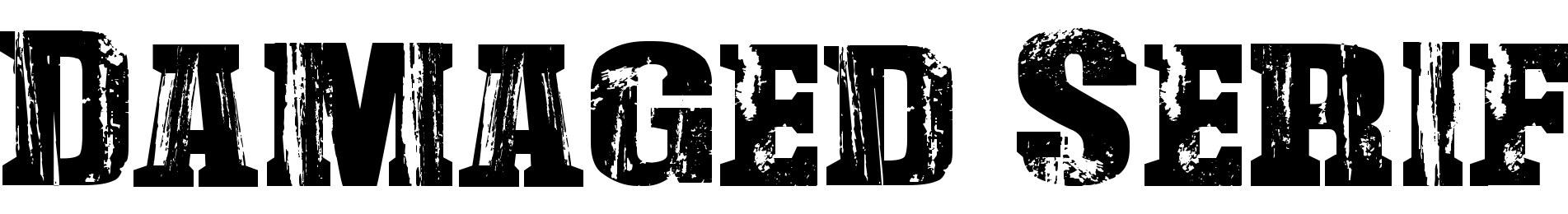Damaged Serif
