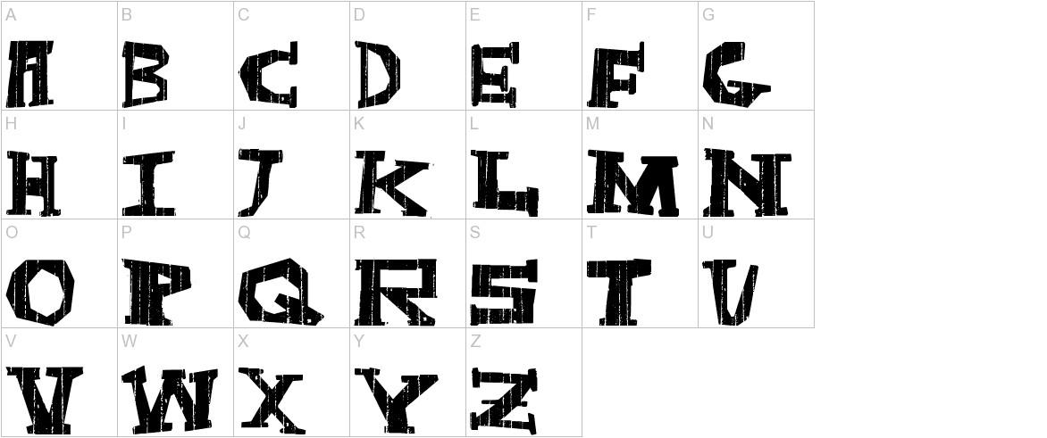 DarkBox uppercase